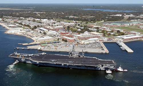 One killed, shooter dead at US navy base attack in Florida