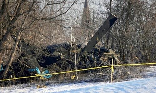 امریکی ریاست مینیسوٹا میں ہیلی کاپٹر گر کر تباہ، 3 فوجی ہلاک
