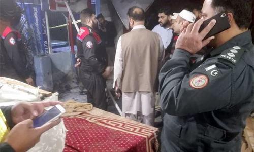 لاہور : الیکٹرونکس کی دوکان میں دھماکا، ایک ملازم جاں بحق