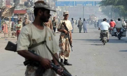 کراچی: ساتھی اہلکار کے قتل پر رینجرز کے معطل سپاہی کو سزائے موت