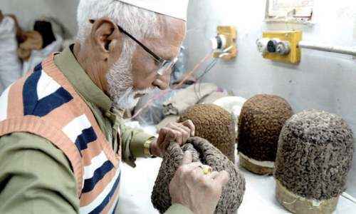 The last Jinnah cap maker in Rawalpindi