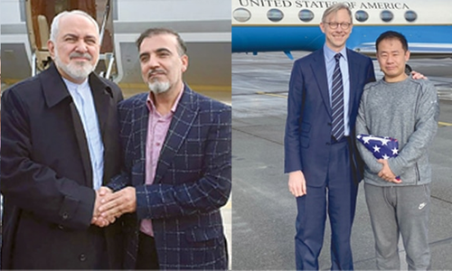 امریکا اور ایران کے درمیان قیدیوں کا تبادلہ