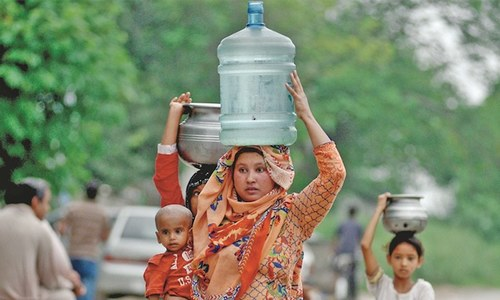 ISLAMABAD'S TUSSLE FOR WATER
