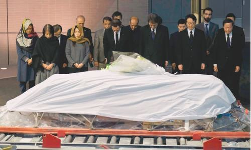 Body of slain doctor returns to Japan from Afghanistan