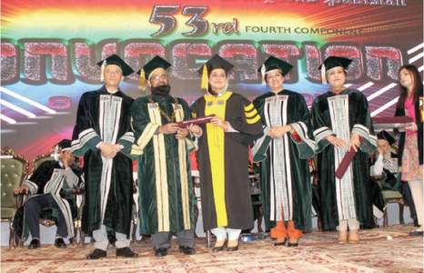 Over 200 graduates get degrees at CPSP convocation