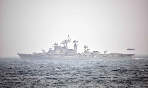 It is doubtful that Gulf nations are aware of India's naval ambitions