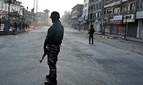 انسانی حقوق کے عالمی دن پر مقبوضہ کشمیر میں یومِ سیاہ