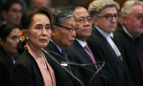 Nobel laureates ask Suu Kyi to be held accountable for crimes against Rohingya Muslims