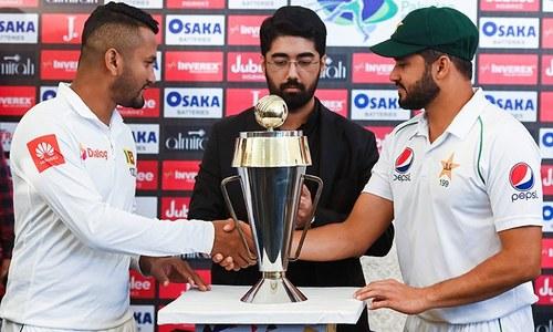 پاکستان میں دہائی بعد ٹیسٹ کرکٹ کی واپسی،اظہر علی سری لنکن ٹیم کے شکرگزار