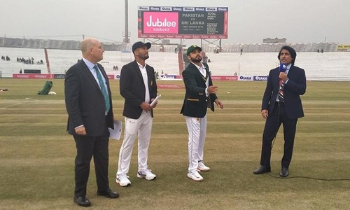 As Test cricket returns to Pakistan, Sri Lanka win toss, opt to bat first against Pakistan