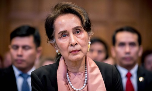 Suu Kyi set to speak in Myanmar's defence in genocide case