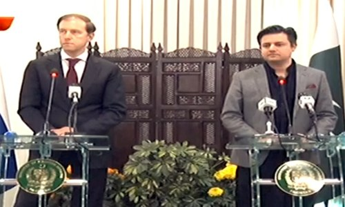 Russian involvement in development projects mutually beneficial, says Hammad Azhar