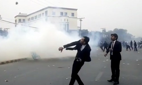'Shameful': Legal fraternity condemns violent protest by lawyers in Lahore