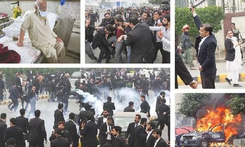 Rampaging lawyers storm govt hospital