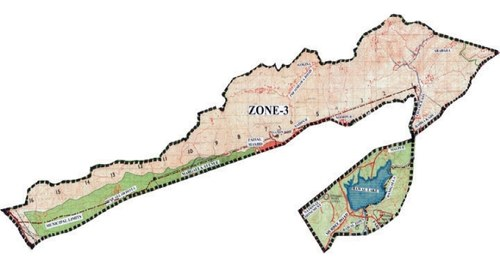 Proposal to limit Zone III to Margalla Hills connected to consultant's study