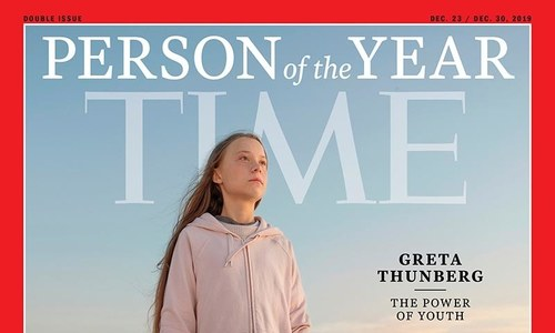Thunberg named Time person of the year