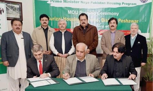 Rs97 billion housing society to be set up near Peshawar