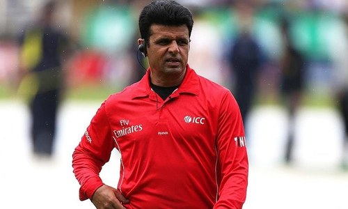Aleem Dar set to break umpiring record for most Tests