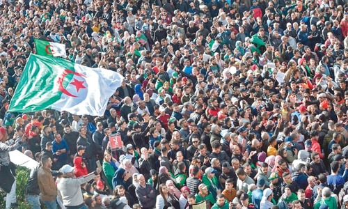 Unrest mars Algeria's disputed presidential vote