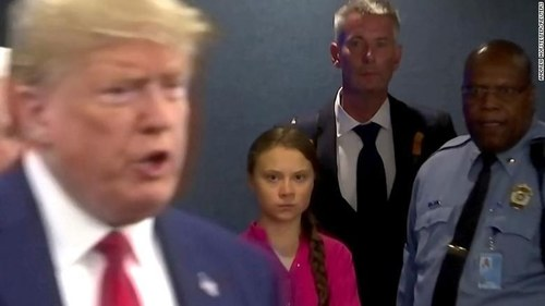 Trump mocks Thunberg: 'Chill Greta, Chill'