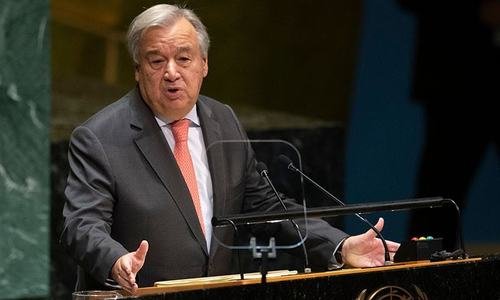 Failure on climate will mean economic disaster: UN chief