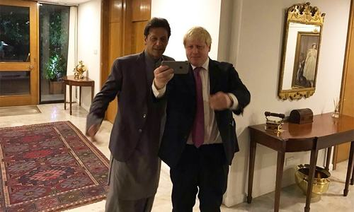 PM Imran congratulates Boris Johnson on victory, 'looks forward' to working together