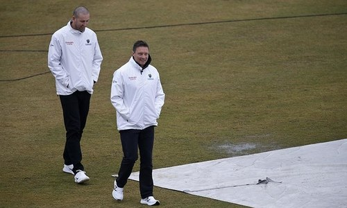 Bad weather delays fourth day of Pakistan-Sri Lanka Test