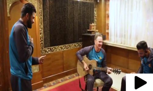 اظہر علی کے نغمہ گانے کی ویڈیو سوشل میڈیا پر وائرل