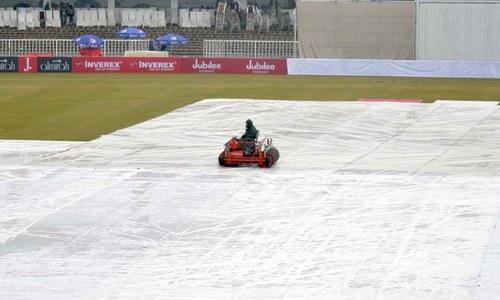 راولپنڈی ٹیسٹ کا چوتھا روز بھی بارش کی نذر