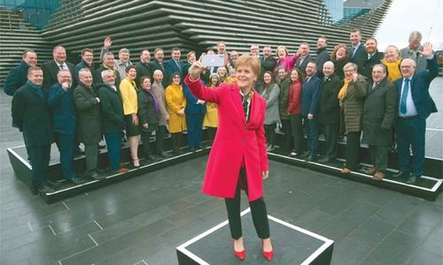Sturgeon asks Johnson to accept another Scottish independence vote