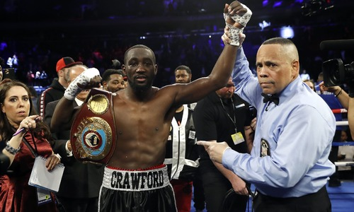 Crawford crushes Kavaliauskas in ninth round to retain WBO title