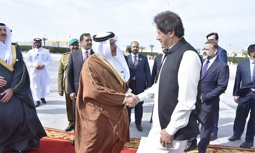 وزیراعظم کا دورہ بحرین، ولی عہد سے ملاقات