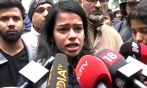 'بھارت رہنے کے قابل نہیں رہا' متنازع شہریت قانون پر ہندو طالبہ کا ردعمل