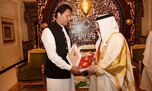 وزیراعظم کو بحرین کے اعلیٰ ترین سول ایوارڈ سے نواز دیا گیا
