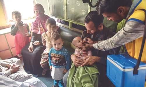Murad launches five-day polio-eradication campaign