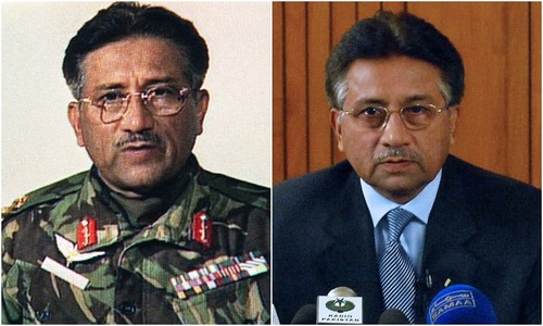 Musharraf's journey in pictures: From military chief to treason convict