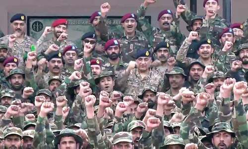 Army chief visits SSG headquarters, vows not to let stability be affected 'at any cost'