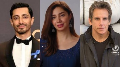 Mahira Khan teams up with Riz Ahmed and Ben Stiller to raise their voice for refugees