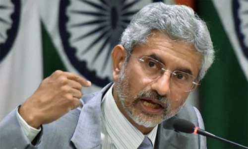 Indian foreign minister cancels meeting with US lawmakers over Kashmir criticism: report