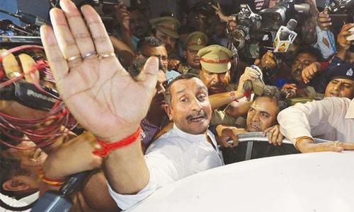 Indian court jails former BJP lawmaker for life in rape of minor