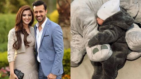 Atif Aslam welcomes baby boy