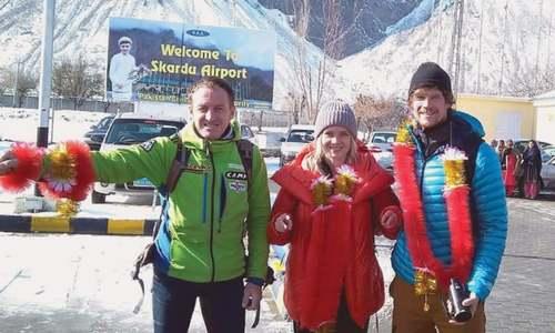 Three international teams plan to climb Karakoram range peaks