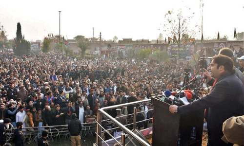 Bilawal flays NAB for ignoring corruption in KP