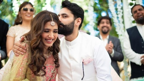 Mansha Pasha and Jibran Nasir had the most adorable engagement ceremony