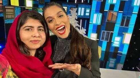 Malala gets a shoutout from Lilly Singh