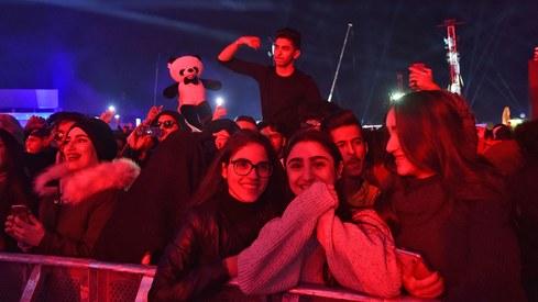 What were 70 DJs doing in Saudi Arabia?