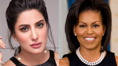 Mehwish Hayat thinks Michelle Obama would make a wonderful president
