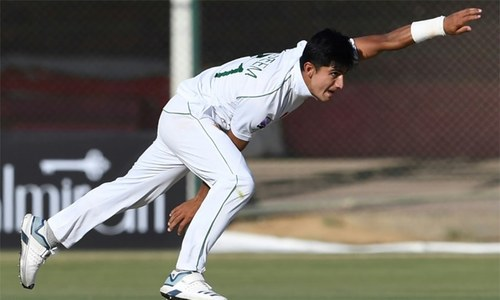 Pace sensation Naseem Shah grows from cub to lion