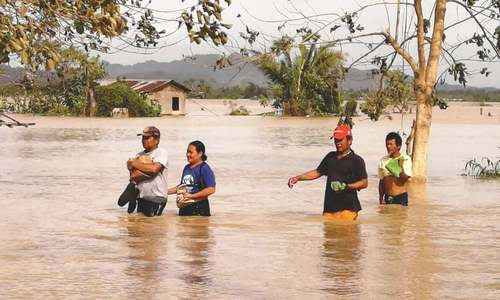 Typhoon misery for Philippines on Christmas Day