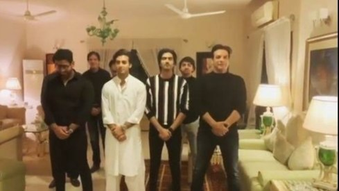 Javed Sheikh and Behroz Sabzwari get the boys together for a dance crew